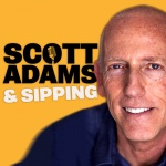 Scott Adams  Sipping