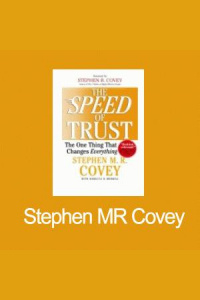 -ann: Stephen Mr Covey- Speed Of Trust Radio