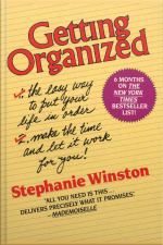 Getting Organized [abridged]