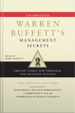 Warren Buffetts Management Secrets: Proven Tools For Personal And Business Success