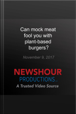 Can mock meat fool you with plant-based burgers?