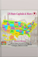 US State Capitals  More Capitals, Population  Land by State