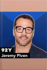 Jeremy Piven and Rebecca Eaton with Matt Lauer