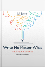 Write No Matter What Advice for Academics