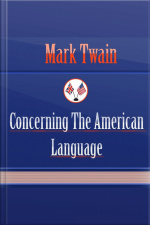 Concerning the American Language