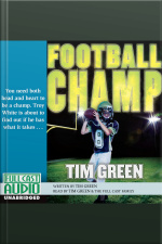 Football Champ You Need both Head and Heart to be a Champ, Troy White is About to Find Out if He has what it Takes