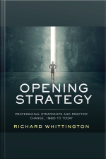 Opening Strategy Professional Strategists and Practice Change, 1960 to Today
