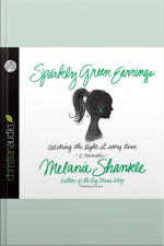 Sparkly Green Earrings Catching the Light at Every Turn by Melanie Shankle