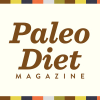 Paleo Diet Magazine With Rose
