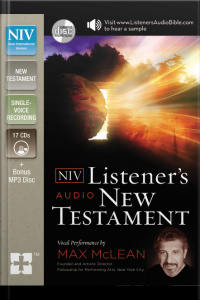 Listeners Audio Bible - New International Version, Niv: New Testament: Vocal Performance By Max Mclean