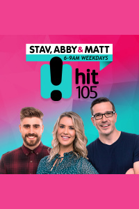 Stav, Abby  Matt Catch Up - Hit105 Brisbane - Stav Davidson, Abby Coleman  Matty Acton